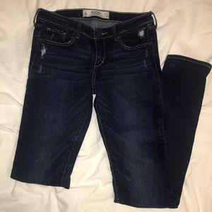 A&F Dark Wash Skinny Jeans